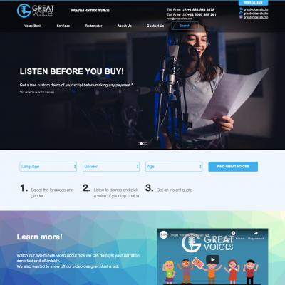 Сайт компании - great-voices.com