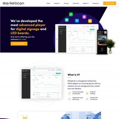 Сайт компании Marketican